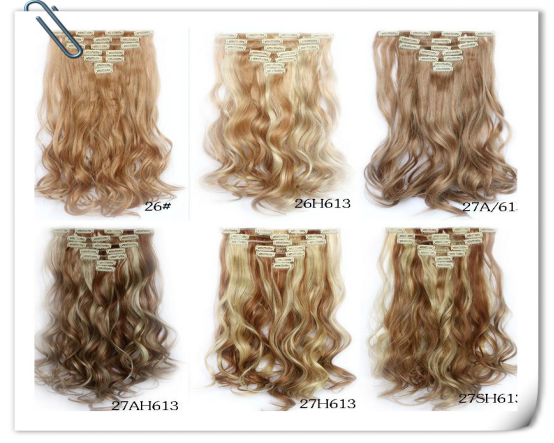 Wholesale Virgin Human Brazilian Clip In Hair Extensions For Black